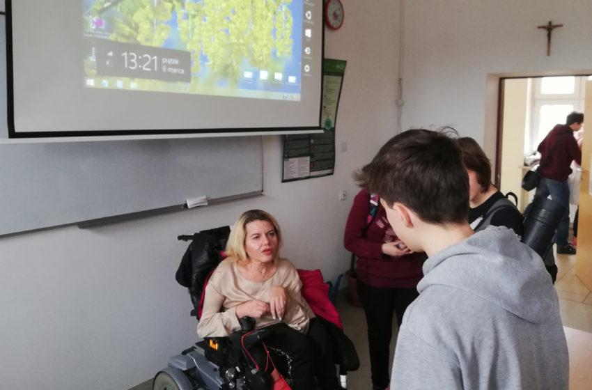 Spotkanie w Zespole Szkół nr 3 w Piasecznie